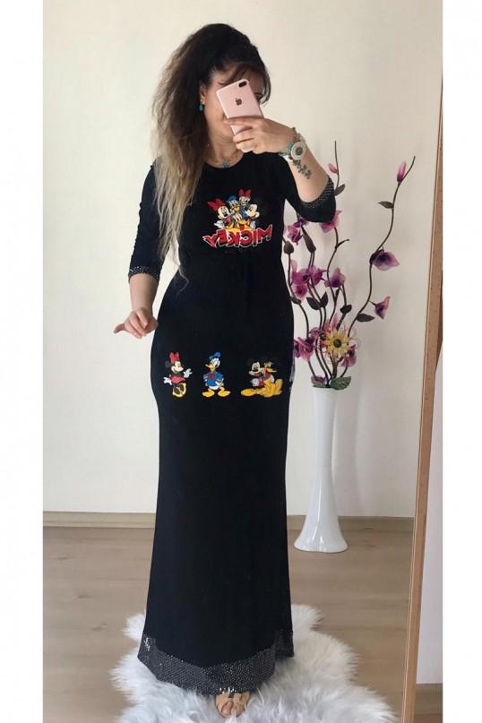 Micky Desen Siyah Elbise
