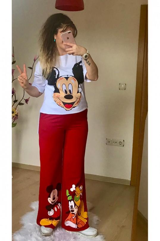 Bol Paça Micky Takım Kırmızı